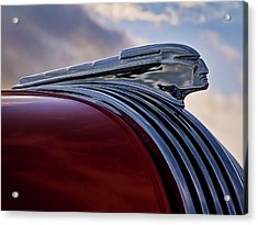 Pontiac Chief Acrylic Print by Douglas Pittman