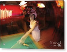 Acrylic Print featuring the photograph Pool Daze by Sherry Davis