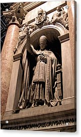 Pope Leo Xii At The Vatican Acrylic Print