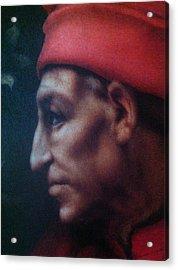 Pope Or Not  Acrylic Print by Paul Washington