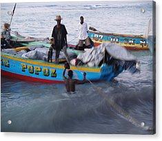 Popoz Acrylic Print by Makati Janlwi
