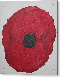 Poppy Of Rememberance Acrylic Print