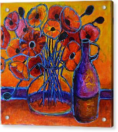 Poppy Time Acrylic Print