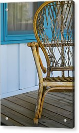 Porch Chair Acrylic Print