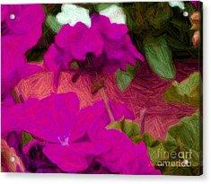 Porch Peddle Acrylic Print