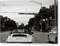 Porsche 911 Carrera 2 Acrylic Print by Andrew  Cragin