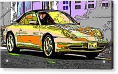 Porsche Carrera Study 4 Acrylic Print