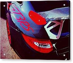 Porsche Gt3 Rs Back Corner Acrylic Print