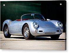 Porsche Spyder Acrylic Print by Peter Tellone