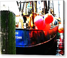 Acrylic Print featuring the photograph Port Of Galilee Number 1 by Lon Casler Bixby