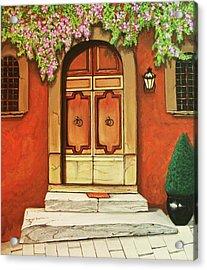 Porta D'ingresso Acrylic Print