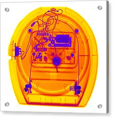 Portable Clock Acrylic Print by Ted Kinsman