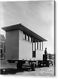 Portable Housing, C1938 Acrylic Print by Granger