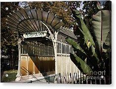 Porte Dauphine Metro Acrylic Print by RicharD Murphy