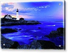 Portland Head Lighthouse Acrylic Print by Fred Kirchhoff