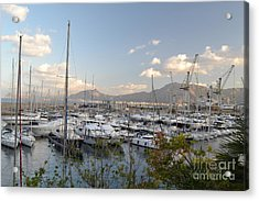 Acrylic Print featuring the photograph Porto Arenella by Kathleen Pio