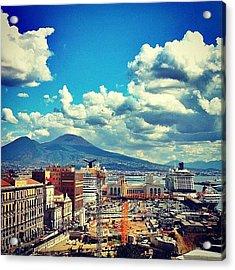 Porto Di Napoli Acrylic Print