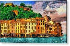 Portofino II Acrylic Print