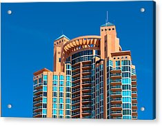 Portofino Tower At Miami Beach Acrylic Print
