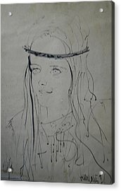 Portrait 1971 Colette Acrylic Print by Colette V Hera  Guggenheim