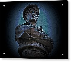 Portrait 33 American Civil War Acrylic Print by David Dehner