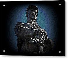Portrait 36 American Civil War Acrylic Print by David Dehner