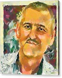 Portrait Of A Painter Acrylic Print by Yury Malkov