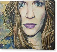 Portrait Of A Wallflower Acrylic Print by Tyler Auman