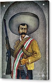 Portrait Of A Zapatista Acrylic Print by Granger