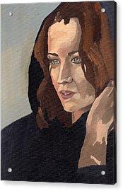 Portrait Of Becca 2 Acrylic Print