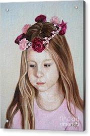 Portrait Of Kristinka Acrylic Print