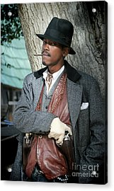 Portrait Of Kurupt Acrylic Print