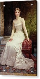 Portrait Of Madame Olry-roederer Acrylic Print by William-Adolphe Bouguereau