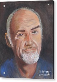 Portrait Of Sean Acrylic Print