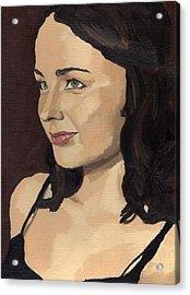 Portrait Of Solomia Acrylic Print