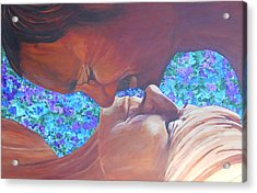 Portrait Of You And Me Acrylic Print