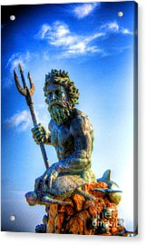 Poseidon Acrylic Print by Dan Stone