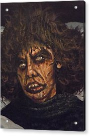 Acrylic Print featuring the painting Possessed Wife by James Guentner