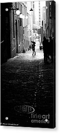 Acrylic Print featuring the photograph Post Alley by Mitch Shindelbower