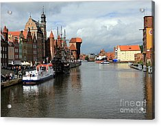 Postcard From Poland Acrylic Print by Sophie Vigneault