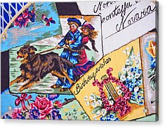 Postcards On A Sunday Afternoon Acrylic Print by Chet King