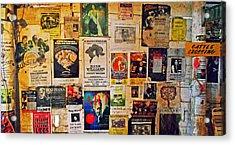 Poster Board Acrylic Print by Cyryn Fyrcyd