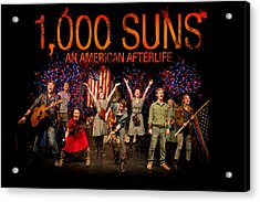 Poster For 1000 Suns - An American Afterlife Acrylic Print