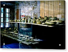 Acrylic Print featuring the photograph Pottery Land by HweeYen Ong