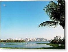 Powai - Suburb Of Mumbai Acrylic Print by Ixefra