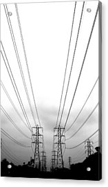 Power Lines Acrylic Print