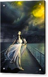 Power Of Faith Acrylic Print by Svetlana Sewell
