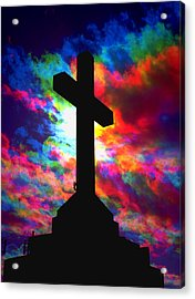 Power Of The Cross Acrylic Print
