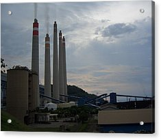 Power Plant Acrylic Print