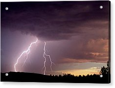 Power Unleashed Acrylic Print by Peter Mooyman